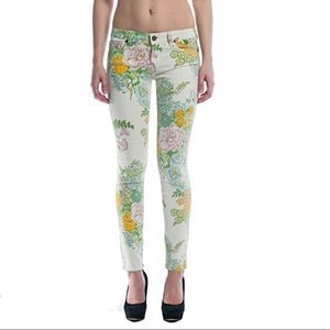Paige Verdugo Ankle Floral Skinny Jeans 27
